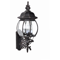 Maxim Lighting Crown Hill 4 Light Outdoor Wall Lantern in Rust Patina 1037RP
