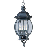 Maxim Lighting Crown Hill 4 Light Outdoor Hanging Lantern in Rust Patina 1039RP