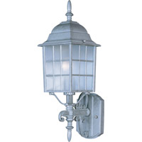 Maxim Lighting North Church 1 Light Outdoor Wall Mount in Pewter 1050PE