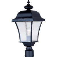 Maxim 1065BK Senator 1 Light 20 inch Black Outdoor Pole/Post Lantern