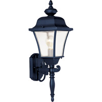 Maxim Lighting Senator 1 Light Outdoor Wall Mount in Black 1068BK