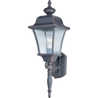 Maxim Lighting Senator 1 Light Outdoor Wall Mount in Rust Patina 1068RP