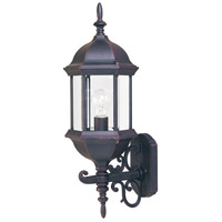 Maxim Lighting Builder Cast 1 Light Outdoor Wall Mount in Empire Bronze 1072CLEB