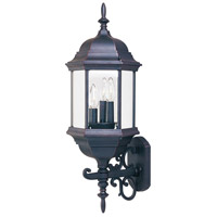 Maxim 1074CLEB Builder Cast 3 Light 26 inch Empire Bronze Outdoor Wall Mount