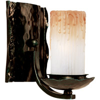 Maxim Lighting Notre Dame 1 Light Wall Sconce in Oil Rubbed Bronze 10970WSOI
