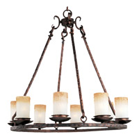 Notre Dame 8 Light 30 inch Oil Rubbed Bronze Single Tier Chandelier Ceiling Light