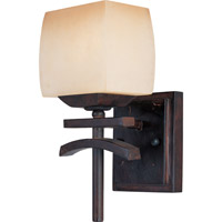 Maxim Lighting Asiana 1 Light Wall Sconce in Roasted Chestnut 10996WSRC