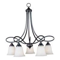 Maxim Lighting Nova 5 Light Down Light Chandelier in Oil Rubbed Bronze 11043WSOI
