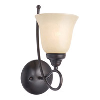 Maxim Lighting Nova 1 Light Wall Sconce in Oil Rubbed Bronze 11047WSOI