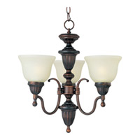 Maxim Lighting Soho 3 Light Mini Chandelier in Oil Rubbed Bronze 11049SVOI