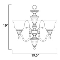 Maxim Lighting Soho 3 Light Mini Chandelier in Oil Rubbed Bronze 11049SVOI alternative photo thumbnail