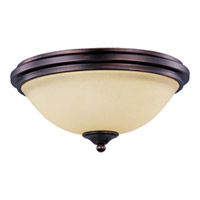 Maxim Lighting Soho 2 Light Flush Mount in Oil Rubbed Bronze 11050SVOI