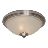 Maxim 11050SVSN Soho 2 Light 14 inch Satin Nickel Flush Mount Ceiling Light