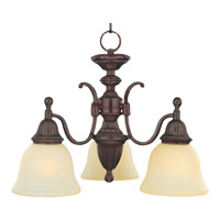 Maxim Lighting Soho 3 Light Mini Chandelier in Oil Rubbed Bronze 11051SVOI