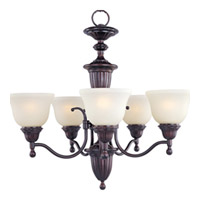 Maxim Lighting Soho 5 Light Single Tier Chandelier in Oil Rubbed Bronze 11053SVOI