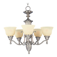 Maxim Lighting Soho 5 Light Single Tier Chandelier in Satin Nickel 11053SVSN