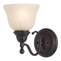Maxim Lighting Soho 1 Light Wall Sconce in Oil Rubbed Bronze 11056SVOI