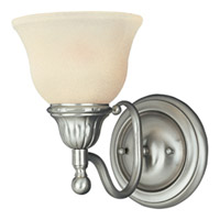 Maxim Lighting Soho 1 Light Wall Sconce in Satin Nickel 11056SVSN