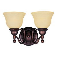Maxim 11057SVOI Soho 2 Light 16 inch Oil Rubbed Bronze Bath Light Wall Light