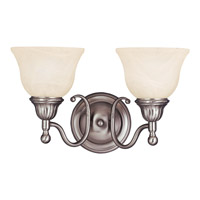 Soho 2 Light 16 inch Satin Nickel Bath Light Wall Light