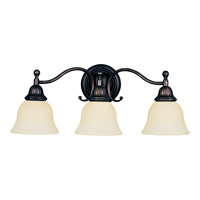 Maxim 11058SVOI Soho 3 Light 24 inch Oil Rubbed Bronze Bath Light Wall Light photo thumbnail