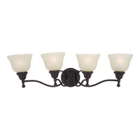 Soho 4 Light 31 inch Oil Rubbed Bronze Bath Light Wall Light