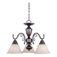 Maxim Lighting Newport 3 Light Mini Chandelier in Oil Rubbed Bronze 11061WSOI photo thumbnail