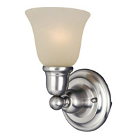 Maxim Lighting Bel Air 1 Light Wall Sconce in Satin Nickel 11086SVSN
