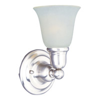 Maxim Lighting Bel Air 1 Light Wall Sconce in Polished Chrome 11086WTPC