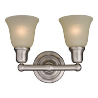 Bel Air 2 Light 16 inch Satin Nickel Bath Light Wall Light