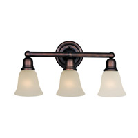 Maxim Lighting Bel Air 3 Light Bath Light in Oil Rubbed Bronze 11088SVOI