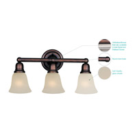 Maxim Lighting Bel Air 3 Light Bath Light in Oil Rubbed Bronze 11088SVOI alternative photo thumbnail
