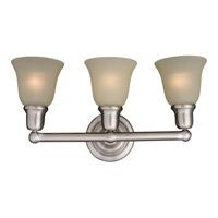 Maxim 11088SVSN Bel Air 3 Light 23 inch Satin Nickel Bath Light Wall Light