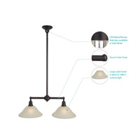 Maxim Lighting Bel Air 2 Light Island Pendant in Oil Rubbed Bronze 11092SVOI alternative photo thumbnail
