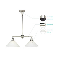 Maxim Lighting Bel Air 2 Light Island Pendant in Satin Nickel 11092SVSN alternative photo thumbnail