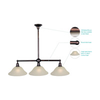 Maxim 11093SVOI Bel Air 3 Light 44 inch Oil Rubbed Bronze Island Pendant Ceiling Light alternative photo thumbnail