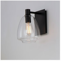 Maxim 11111CLBK Babylon 1 Light 7 inch Black Wall Sconce Wall Light alternative photo thumbnail