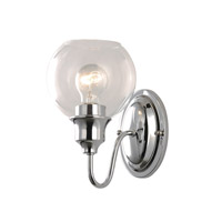 Ballord 1 Light 6 inch Polished Chrome Wall Sconce Wall Light