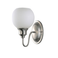Ballord 1 Light 6 inch Satin Nickel Wall Sconce Wall Light