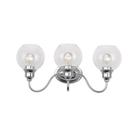 Maxim 1113CLPC Ballord 3 Light 22 inch Polished Chrome Bath Vanity Wall Light