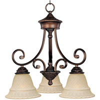 Maxim 11173EVOI Brighton 3 Light 19 inch Oil Rubbed Bronze Mini Chandelier Ceiling Light