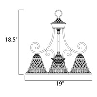 Maxim Lighting Brighton 3 Light Mini Chandelier in Oil Rubbed Bronze 11173EVOI alternative photo thumbnail