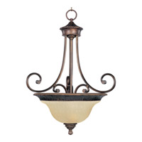 Maxim Lighting Brighton 3 Light Pendant in Oil Rubbed Bronze 11174EVOI photo thumbnail