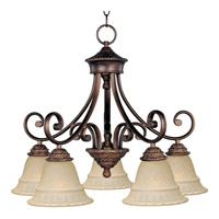 Maxim Lighting Brighton 5 Light Down Light Chandelier in Oil Rubbed Bronze 11176EVOI