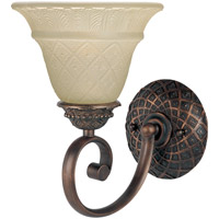 Maxim Lighting Brighton 1 Light Wall Sconce in Oil Rubbed Bronze 11181EVOI