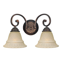 Maxim Lighting Brighton 2 Light Bath Light in Oil Rubbed Bronze 11182EVOI