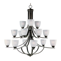 Axis 15 Light 43 inch Oil Rubbed Bronze Multi-Tier Chandelier Ceiling Light