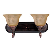 Maxim Lighting Symphony 2 Light Bath Light in Oil Rubbed Bronze 11231SAOI