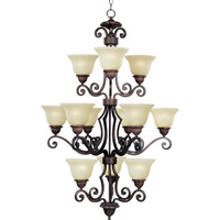 Maxim Lighting Symphony 12 Light Multi-Tier Chandelier in Oil Rubbed Bronze 11238SVOI