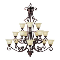 Maxim Lighting Symphony 15 Light Multi-Tier Chandelier in Oil Rubbed Bronze 11239SVOI